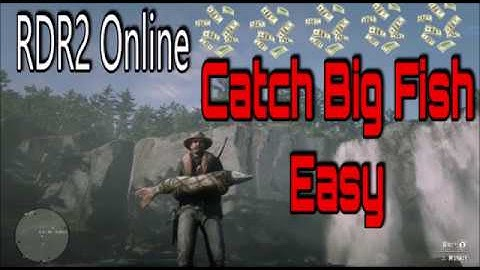 Red Dead Redemption 2 Online: How To Catch Big Fish Easy And Often, Fishing Tips