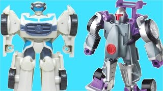 TRANSFORMERS RESCUE BOTS QUICKSHADOW MORBOT RACE BUMBLBEE BLURR HIGH TIDE TOYS