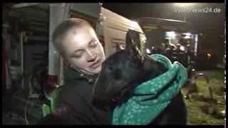 Dramatische Hunde-Rettung in Bergkamen