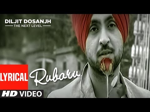 Diljit Dosanjh: Rubaru | Punjabi Lyrical Song | Yo Yo Honey Singh | The Next Level | T-Series