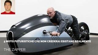5 MOTO Futuristiche che non crederai esistano realmente | The Zapper
