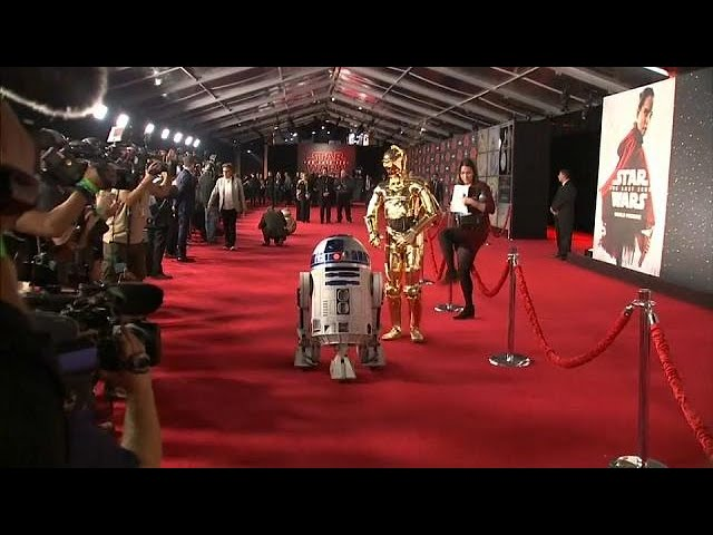 Star Wars: The Last Jedi premieres in LA