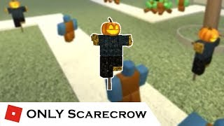 I finally got to do it, a scarecrow only! I don't actually own the ...