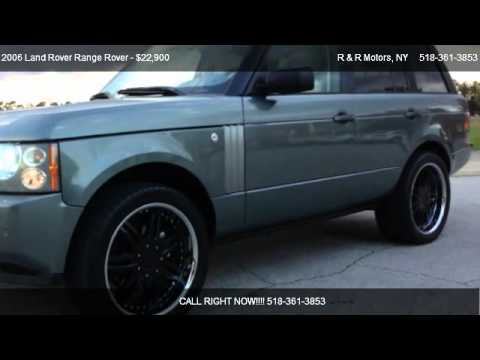 2006 Land Rover Range Rover HSE - for sale in 369 Bay Rd Queensbury , NY 12528