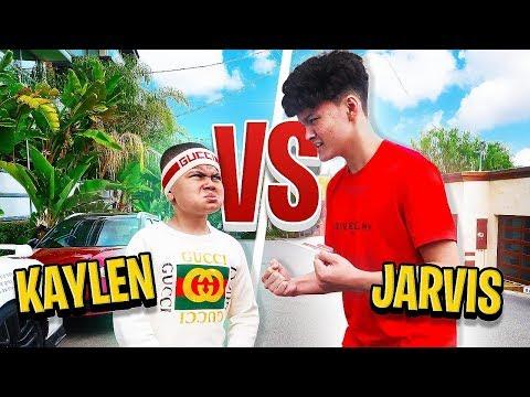 Jarvis Vs MindofRez's Little Brother FACE TO FACE (Confronting on Fortnite 1v1)