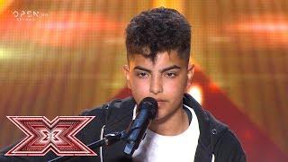LIAK ερμηνεύει «Για την Ελλάδα»   Auditions   X Factor Greece 2019