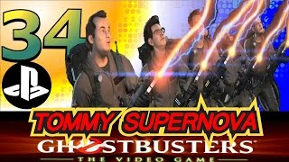 Ghostbusters the VideoGame 34 The Chairman Boss Battle   SuperNova Gaming
