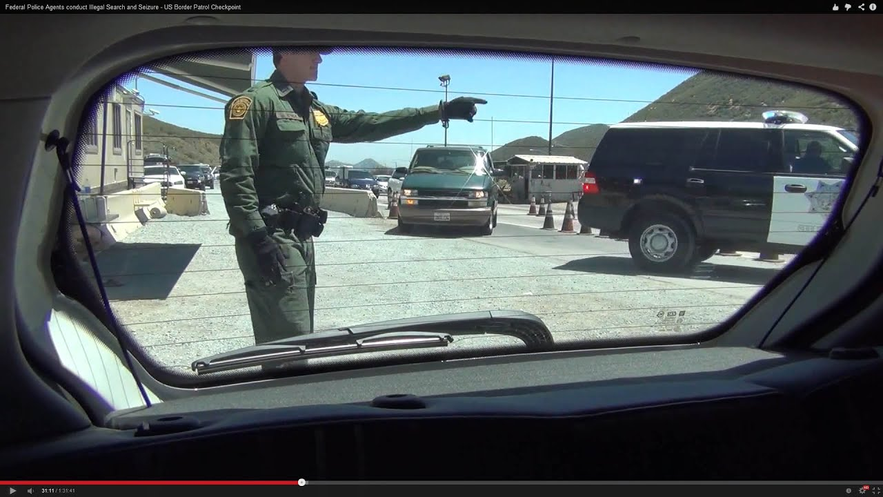 Federal Police Agents Conduct Illegal Search And Seizure