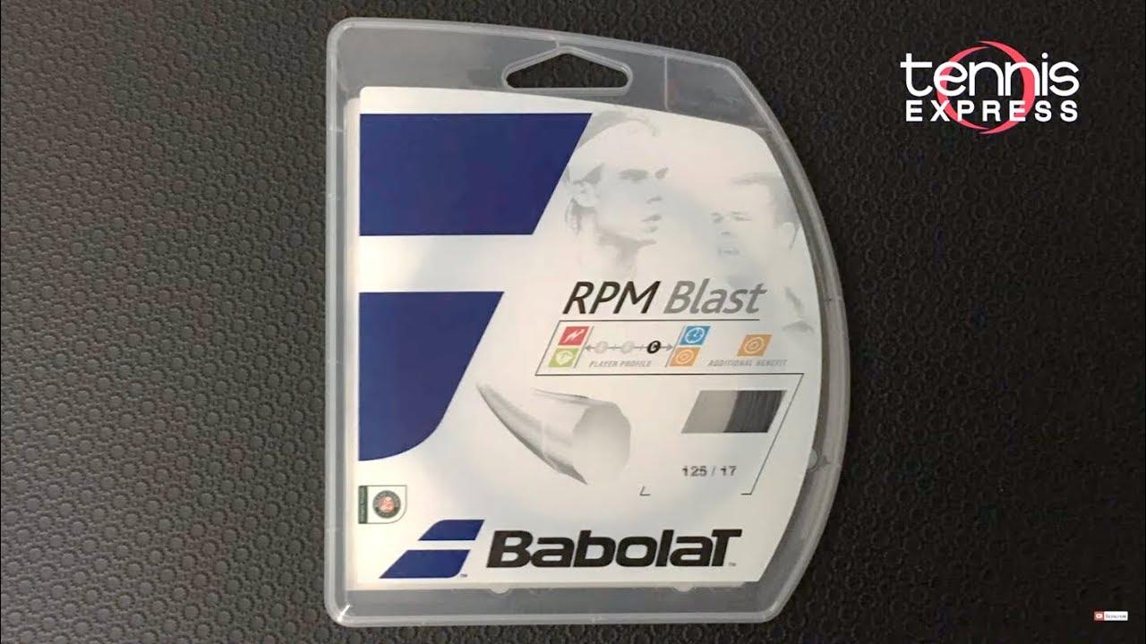 Babolat Rpm Blast Tennis String Review Tennis Express Youtube