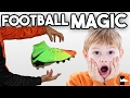 Incredible FOOTBALL MAGIC You Won't Believe! Best Boots Tricks