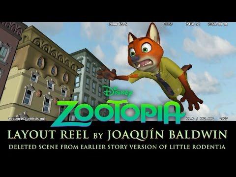 Zootopia Layout Reel - Little Rodentia Deleted Scene