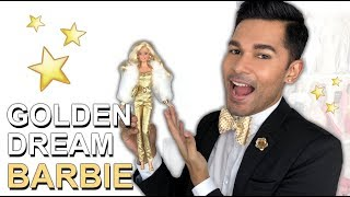 GOLDEN DREAM Barbie Doll - Barbie Collector - Review