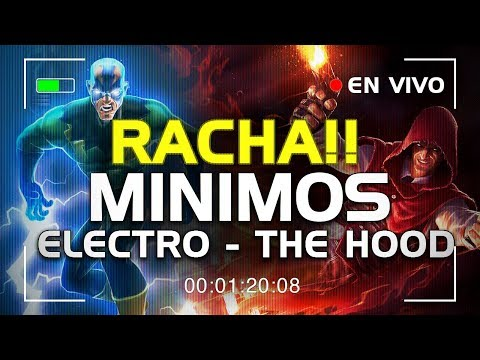 MINIMOS! por The Hood y Electro! mas RACHA! | Marvel Contest of Champions