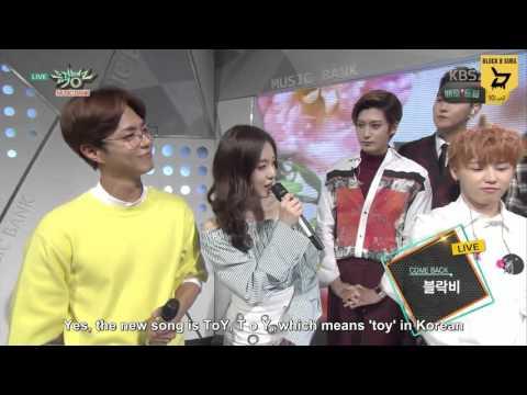 [ENG SUB] 160415 KBS Music Bank Block B Interview
