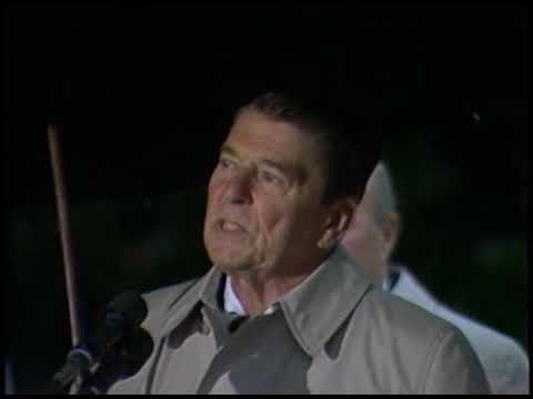 President Reagan's Remarks on Marine Barracks Bombing in Lebanon on October 23, 1983