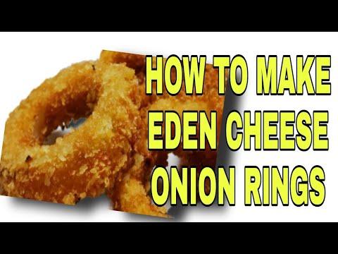 EDEN CHEESE ONION RINGS RECIPE Lhynn Cuisine