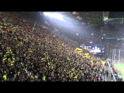 Borussia Dortmund vs Real Madrid 2-1 Atmosphere Part 2 Fans BVB Champions League