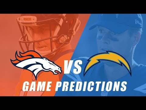 Denver Broncos vs Los Angeles Chargers Predictions