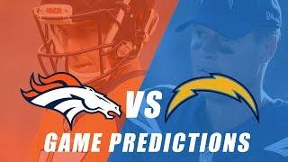 Denver Broncos vs Los Angeles Chargers Predictions