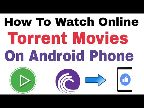 How To Watch Online Torrent Movies On...