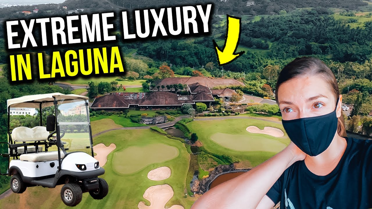 INSANE! Not everyone has ACCESS to THIS LUXURY place in LAGUNA! (we got to see it!)