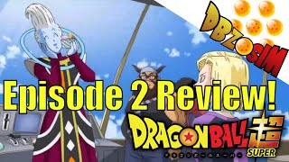 Dragon Ball Super Episode 2 English Sub Review!