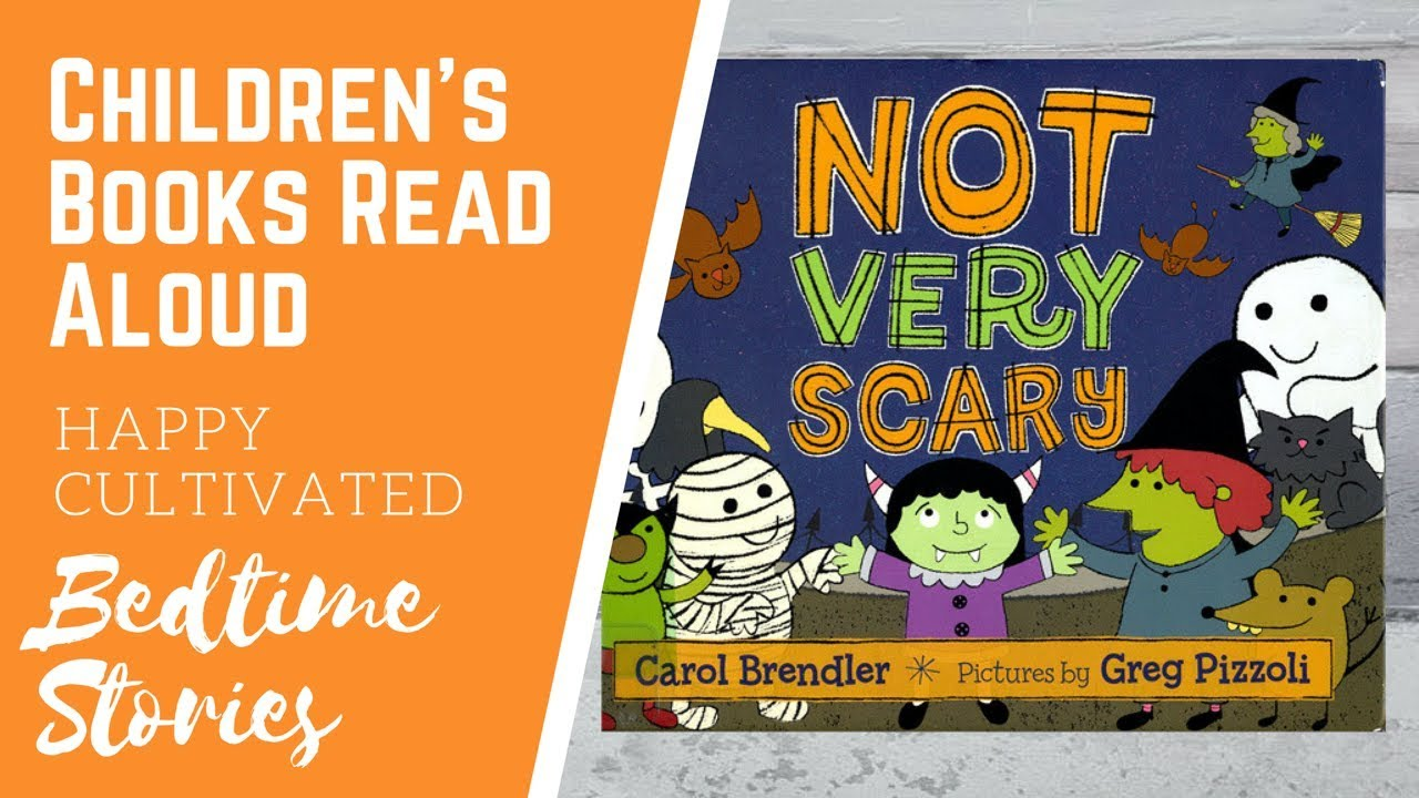 not very scary book read aloud halloween books for kids spooky kids stories