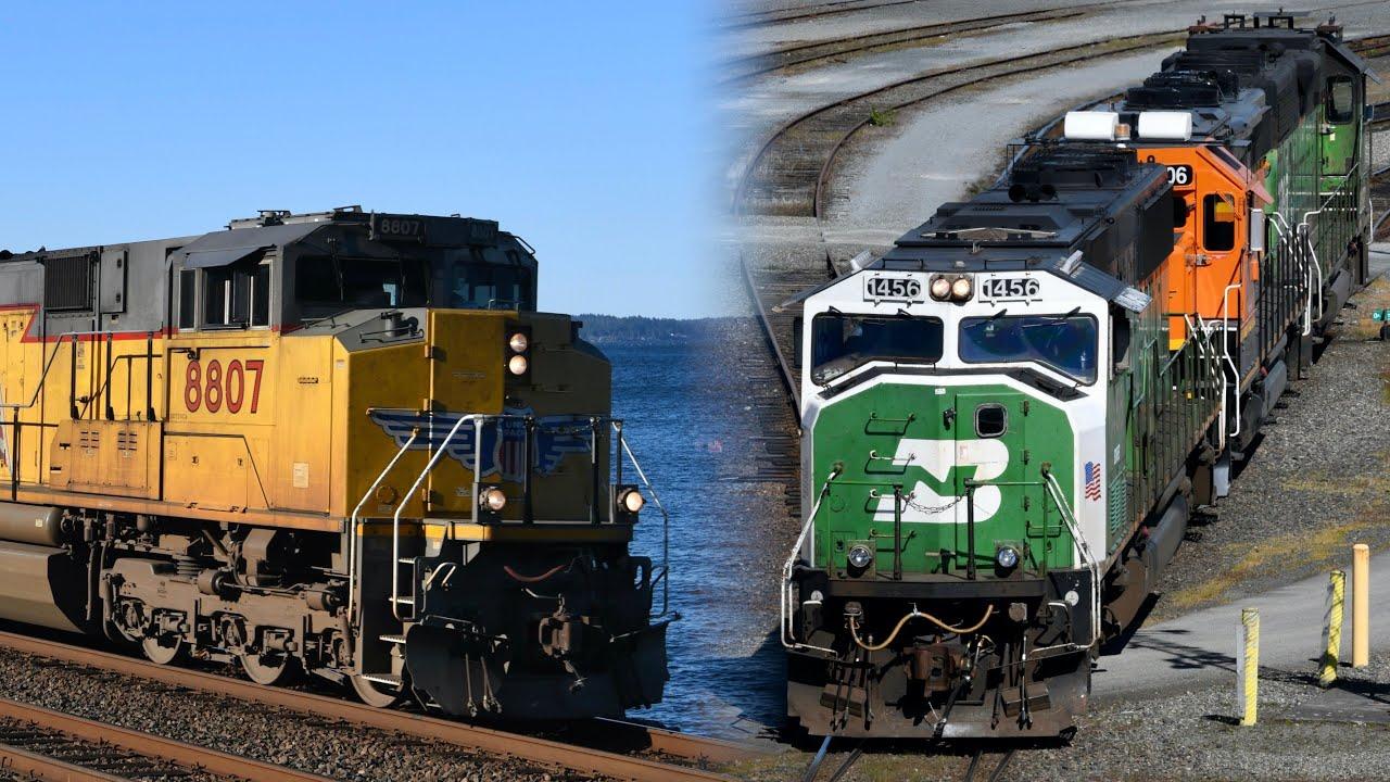 Freight Trains of Western Washington