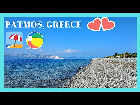 Island of PATMOS (ΠΑΤΜΟΣ): top BEACHES to see and visit (GREECE)