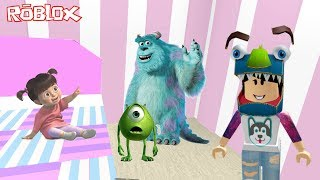 ROBLOX-BUILDING MONSTERS S. A (Monsters Inc. Tycoon)   Luluca Games