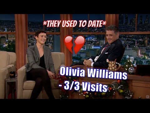 Olivia Williams  Craig Broke Her Heart, For Real!  33 Visits In Chronological Order HD