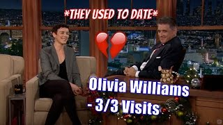 Olivia Williams - Craig Broke Her Heart, For Real! - 3/3 Visits In Chronological Order [HD]