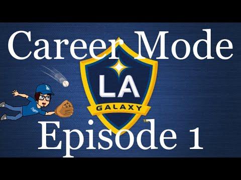 FIFA 18 Career Mode - LA Galaxy S1E1 - MLS Adventure