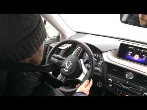 Тест драив Lexus RX200T