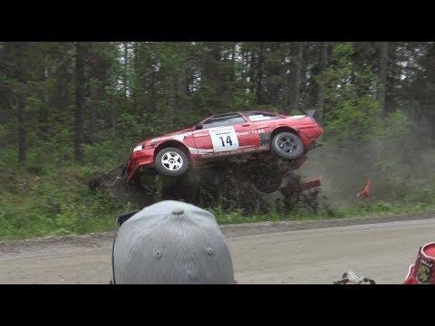 Lieksa Ralli 2019 (crash & action)