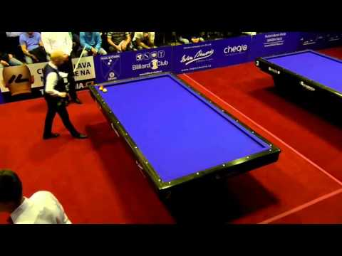 EC Classic teams 2016 Prague - Group B De Bruijn vs. Justice - 1-cushion