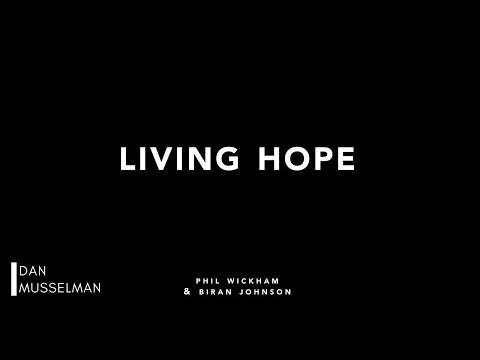 LIVING HOPE - Piano Instrumental with Lyrics