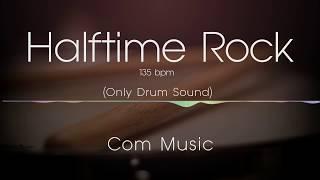 halftime rock backing track (drum only)