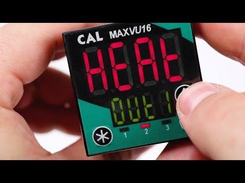 Cal Controls MAXVU Series Process Controllers