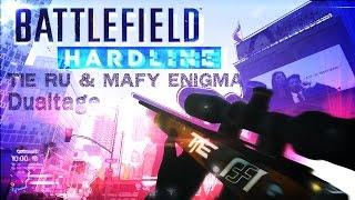 [BFH]MAFY ENIGMA & TIE_Ru | 神業スナイパーDualtage | BattleField HARDLINE β Sniping
