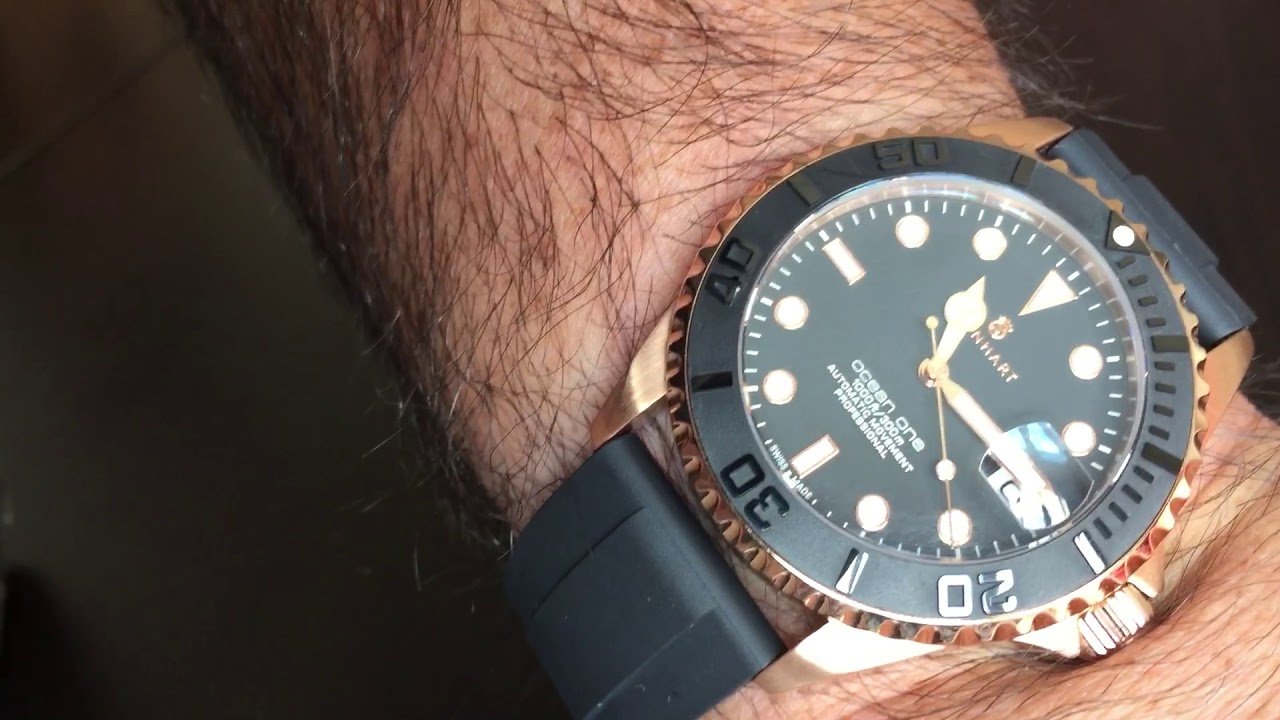 Here Is A New Rubber Strap For My Steinhart Ocean 39 Pink