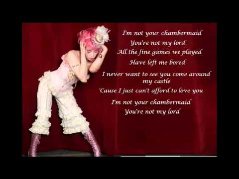 Chambermaid - Emilie Autumn (with lyrics)