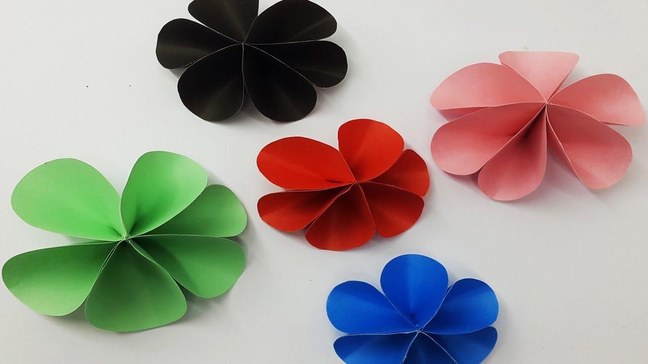 Diy Paper Flowers Tutorial Making Paper Flowers Step By Step