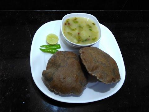 Kuttu Ki Puri Aur Aloo Ki Sabzi/How to make Vart wale Aloo puri/Upwas/Fast/indian food#111