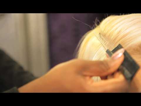 How to Use Skin Weft : Hair Extensions