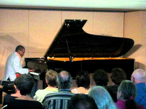 "George Cables, solo on the Fazioli concert grand piano ""Beware My Foolish Heart"""