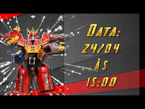 Convite Virtual Animado Power Rangers Todos Os Temas Youtube