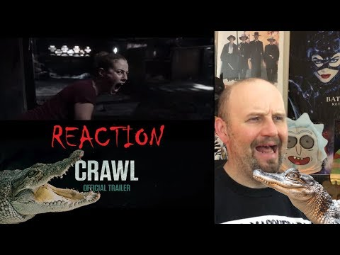 Crawl (2019) - Official Trailer - Paramount Pictures - REACTION