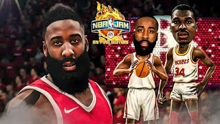 NBA Jam On Fire Edition🔥2018 NBA Playoff Edition | 🚀Rockets vs.🐺Wolves Harden Goes Off for 31!!!