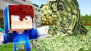 Minecraft: TSUNAMI DE DINHEIRO CONTRA CASA DE 100% SEGURA